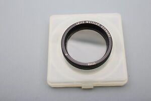 "Leica Leitz ""P"" Polarizing 13358 Polarizer E44/ 44mm Germany Filter+Case++MINTy"