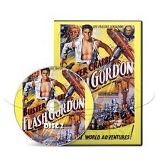 Flash Gordon: Space Soldiers (1936) Universal Movie Serial Cliffhanger (2 x DVD)
