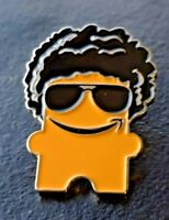 New Amazon Employee Swag Peccy Pin with Sunglasses Summertime Afro