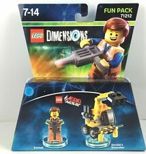 LEGO Dimensions 71212 Lego Movie Fun Pack - Emmet - AUS stock Brand new (#1304)
