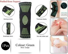 Climb Apoyo Knee Pad Brace Sleeve Joint Protect Sports Padded Breathable Verde