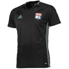 Maillots de football de clubs français noir manches courtes pour homme