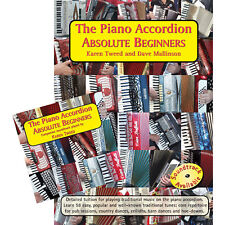 The Piano Accordion Absolute Beginners Book & CD - Karen Tweed & Dave Mallinson