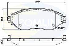 Front Brake Pads FOR RENAULT TRAFIC 1.6 14->ON Diesel EG FG JG Comline