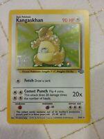Pokemon KANGASKHAN 5/64 1st Edition Holographic Jungle Set Unplayed Excellent
