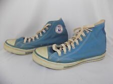 Vintage Official NBA Basketball Shoes Sneakers Size 12 Converse All-Stars Canvas