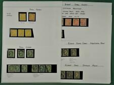 CANADA  STAMPS SELECTION OF EARLY ISSUES ON 4 ALBUM PAGES  (B272)