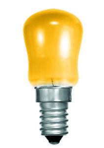 BELL 02620 15W Small Sign Pygmy Light Bulb - SES E14, Amber