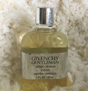 Givenchy Gentleman 1 oz Splash After Shave Lotion Cologne