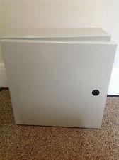 Enclosure ip65 acciaio WALLBOX 400x400x150mm Lock NUOVO CON SCATOLA