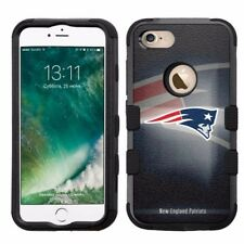 for Apple iPhone 8 Plus Armor Rugged Hard Hybrid Case New England Patriots #BG