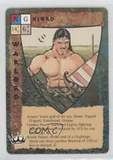 1995 Blood Wars Collectible Card Game #NoN Njord Gaming 2k3