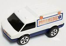 1976 Mattel Power N Speed Paramedic Truck Van - Friction Shifter - Vintage Toy