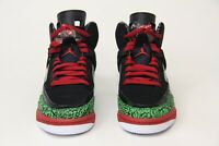 big sale d35bc 811e9 Air Jordan Spizike OG RETRO GS Big Kid Shoes Black Red Green 317321-026 SZ