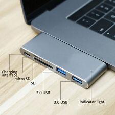 For Mackbook Pro Type-C to USB 3.0 Hub OTG Adapter With Thunderbolt+SD Card Slot
