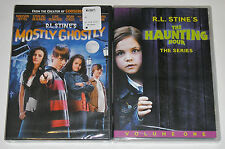 Kid DVD Lot - R.L. Stine Mostly Ghostly (New) The Haunting Hour Series V1 (New)