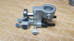 """14"""" Bandsaw guide Bracket complete for bandsaws w/ 7/8"""" post Ridgid 14002 14001"""