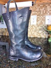 🔥Jim Barnier  Boots Women Size Us 6 / 6.5 Black Leather #7