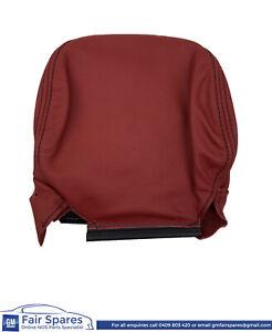 NOS Holden CV8 Monaro V2 VX VY VZ Redhot RHF or LHF Leather Head Rest Cover New