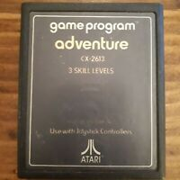 Adventure ( Atari 2600 ) Cartridge Only - NTSC -U/C -Tested & Working