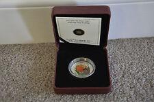 2011 $20 Venetian Glass Coin - Tulip with Ladybug