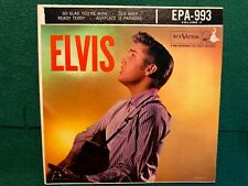 ELVIS / SO GLAD YOU'RE MINE /READY TEDDY / RCA # EPA-993   45 rpm