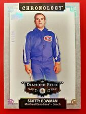 2018-19 UD Chronology Scotty Bowman Diamond Relic /36 Montreal Canadiens