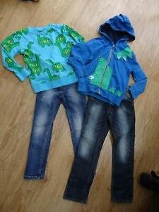 NEXT boys 4 piece clothes bundle jeans jumper sweatshirt AGE 4 - 5 / 5 YEARS