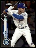 2020 Topps Chrome Base #186 Kyle Lewis RC - Seattle Mariners