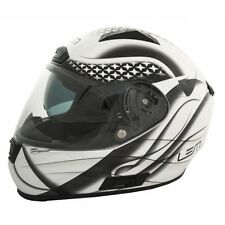 LEM Casco integral con pantalla solar BORA STAR - BARGY DESIGN S Blanco