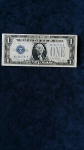 1928A $1 Silver Certificate Funny Back