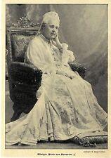 Königin Marie Luise von Hannover verstorben, Hofphot. C. Jagerspacher von 1907