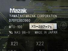Mazak Yamazaki D70YC003960 MTU-100 X5-287-71 -used-
