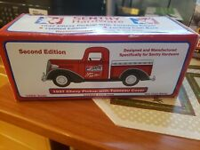 Sentry Hardware 1937 CHEVY PICKUP WITH TONNEAU COVER BANK Die-Cast Metal