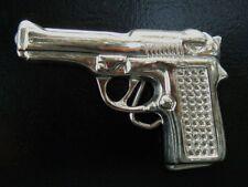 Gun Pistol  22 38 45 Firearm Bling Belt Buckle  Boucle De Ceinture
