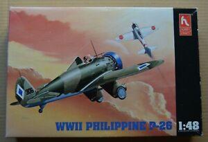 Boeing p-26 WWII Philippine 1/48 hobby craft