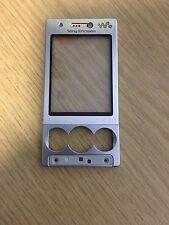 Original Original Sony Ericsson W705 Upper Front Cover Oberschale Gehäuse Silber