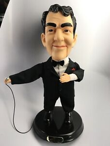 """Dean Martin Animated Singing & Moving Doll 18"""" Gemmy 2002 - Mouth Doesn't Move"""