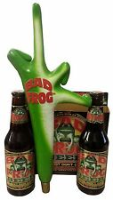 BAD FROG BEER Tap Handle, NEW, Beer knob, Bad Frog Tapper - Beer Handle