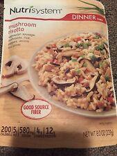 Nutrisystem DINNER 6 Mushroom Risotto 6 dinner pouches