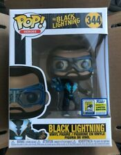 Funko Pop #344 Black Lightning SDCC Funko Shop Exclusive LE 3000 New