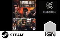 Commandos Collection [PC] Steam Download Key - FAST DELIVERY