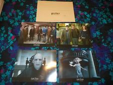 HARRY POTTER & THE DEATHLY HALLOWS PT. 1  - 8 ORIGINAL FRENCH LOBBY CARDS