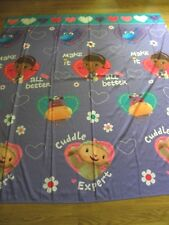 Disney Doc McStuffins Fabric Shower Curtain Purple Lambie Stuffy Kids Tv Show