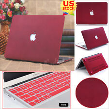 "2in1 Quicksand Matte Hard Case+Keyboard Cover for MacBook Pro 13"" Air 11/13""inch"
