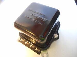 1965 Voltage Regulator Delco Remy Original 1119515 12V 5A 515 OEM 65 GM Restored