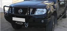 NISSAN Navara D40 2005 - 2010 acciaio anteriore Verricello Paraurti OFF-ROAD