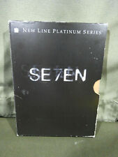 New listing Seven Se7en Dvd, 2-Disc Set, Platinum Brad Pitt Morgan Freeman