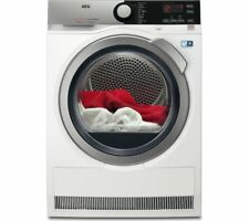 AEG T8DEE845R Freestanding A++ Rated Heat Pump Tumble Dryer in White