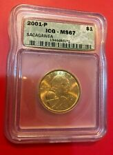 2000 P D S Sacagawea Native American $1 ICG MS67 MS67 PR69DCAM All 3 FIRST YEAR!